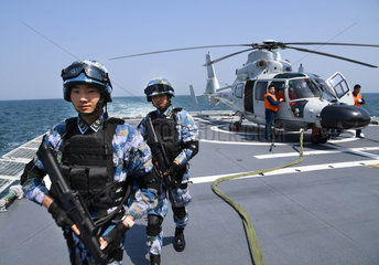 CHINA-QINGDAO-JOINT NAVAL EXERCISE (CN)