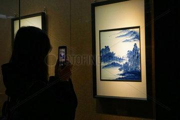 CHINA-BEIJING-PRINCE KUNG'S MANSION-CERAMIC ART EXHIBITION (CN)
