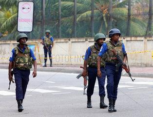SRI LANKA-COLOMBO-SECURITY