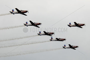 INDONESIA-MAGETAN-AEROBATIC PERFORMANCE