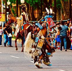 U.S.-NEW MEXICO-ALBUQUERQUE-POWWOW