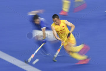 (SP)MALAYSIA-KUALA LUMPUR-HOCKEY-FIH MEN'S SERIES FINALS-CHINA VS BRAZIL