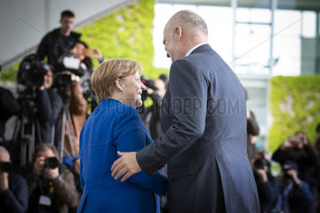 Angela Merkel empfaengt Edi Rama