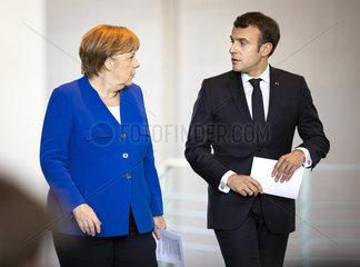 Westbalkantreffen - Merkel empfaengt Macron