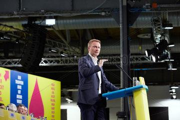 Berlin  Deutschland - Christian Lindner  Bundesvorsitzender der FDP. Rede auf dem Bundesparteitag.