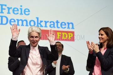 Berlin  Deutschland - Marie-Agnes Strack-Zimmermann  Beisitzerin im Bundesvorstand der FDP auf dem Bundesparteitag.