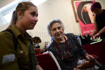 ISRAEL-TEL AVIV-HOLOCAUST SURVIVORS