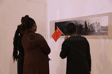 ZIMBABWE-HARARE-AFRO-SINO ART EXHIBITION