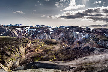 Iceland  South West  Landmannalaugar