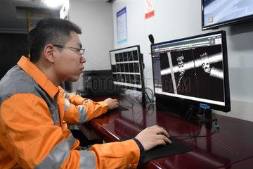 CHINA-HANGZHOU-HUANGSHAN HIGH-SPEED RAILWAY-MAINTENANCE (CN)