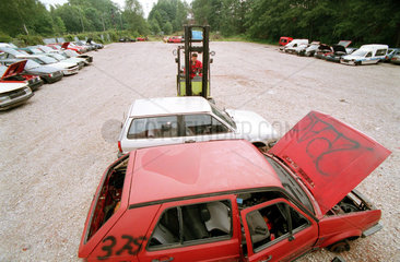 Autoverwertungsbetrieb