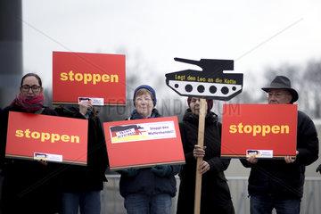 Aktion gegen Waffenhandel