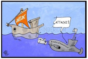 Attac verliert Status der Gemeinnuetzigkeit
