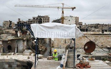 SYRIA-ALEPPO-RESTORATION