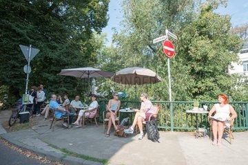 Cafe unter Linden