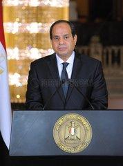EGYPT-CAIRO-SHOOTING ATTACK-PRESIDENT-SPEECH