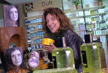 Anita Roddick  Gruenderin The Body Shop  2001