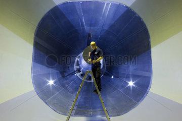 Niedergeschwindigkeits-Windkanal