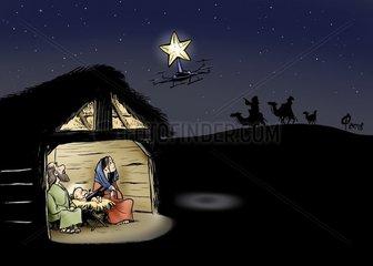 Drohne Weihnachten