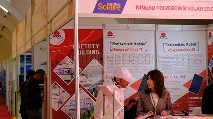 MOROCCO-CASABLANCA-SOLAR ENERGY-EXPO
