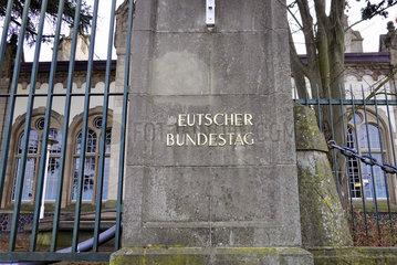 Bonner Wasserwerk ehemaliges Ausweichgebaeude des Deutschen Bundestag