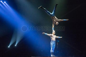 Ungarn-Budapest-Circus-Show