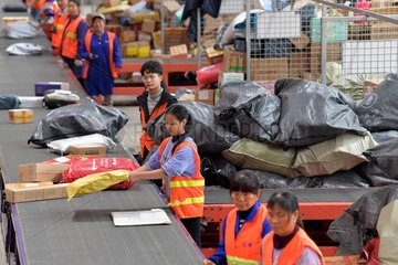 CHINA-EXPRESS DELIVERY SECTOR-GROWTH(CN)