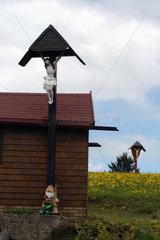 Kruzifixe im Schwarzwald