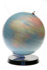 Berlin  Deutschland  rotierender Globus