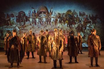 HUNGARY-BUDAPEST-HISTORY FOLK DANCE