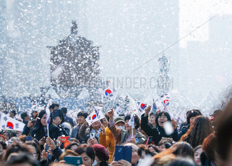 SOUTH KOREA-MARCH FIRST INDEPENDENCE MOVEMENT-CEREMONY