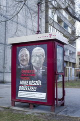 Kampagne der Fidesz-Regierung gegen die Europaeische Union