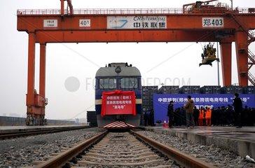 CHINA-EUROPE-FREIGHT TRAIN-E-COMMERCE (CN)