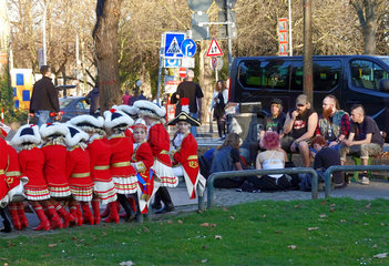 Kindercorps eines Karnevalsvereins