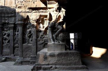 INDIA-AURANGABAD-CULTURAL HERITAGE-ELLORA CAVES