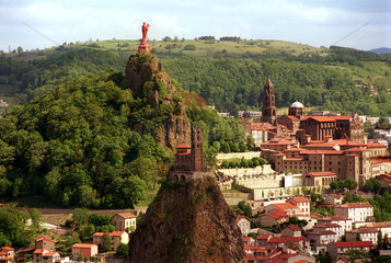 Wallfahrtsort Le Puy en Velay (Haute-Loire  Frankreich)