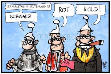 Bericht zum Wohlstandsgefaelle in Deutschland