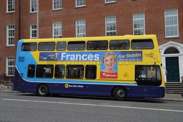 IRELAND-DUBLIN-ELECTION CAMPAIGNS