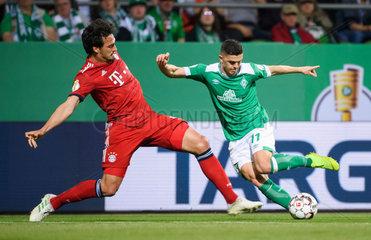 (SP)GERMANY-BREMEN-SOCCER-GERMAN CUP-BREMEN VS BAYERN MUNICH