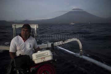 INDONESIA-BALI-MOUNT AGUNG