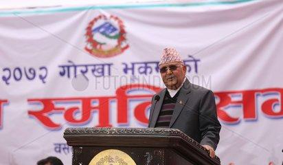 NEPAL-KATHMANDU-PM-EARTHQUAKE-4TH ANNIVERSARY