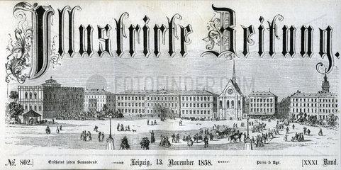 Illustrirte Zeitung  Leipzig  1858