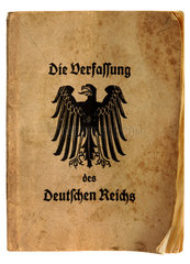 Verfassung Weimarer Republik  1926