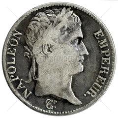 Napoleon  Portraet  Silbermuenze  1813