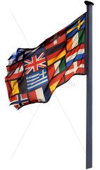 europaeische Laenderflagge