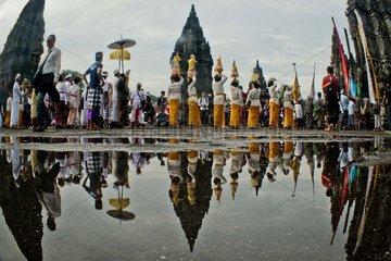 INDONESIA-YOGYAKARTA-HINDUISM-NYEPI