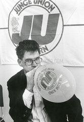 Gerd Mueller  Vorsitzender Junge Union Bayern  1988