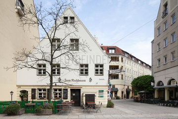 Berlin  Deutschland  Restaurant Zum Nussbaum im Nikolaiviertel