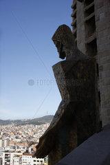 Ausblick von La Sagrada Familia