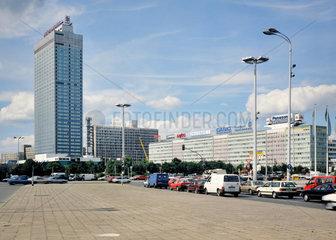 Berlin  Deutschland  Forum Hotel  Berliner Verlag und Haus der Elektroindustrie am Alexanderplatz